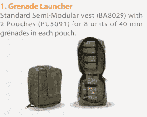 BA8063-01AV New Amran fully Modular Armor Carrier for Military Use made by Marom Dolphin (Green Color Available) 8