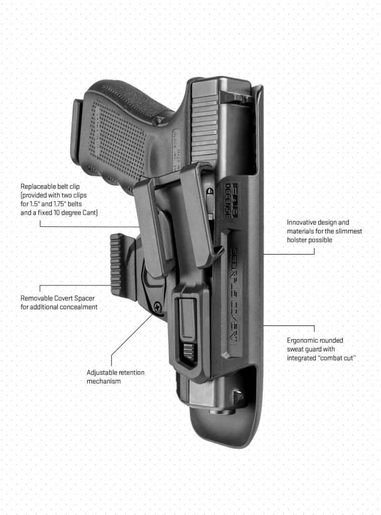 FAB Defense Scorpus Covert G9 Holster