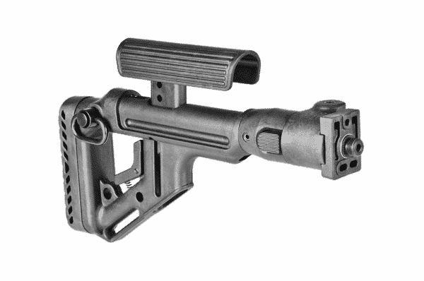 Fab Defense VZ  58 (Polymer Joint) Tactical Folding Butt Stock with Cheek  Piece - UAS-VZ P