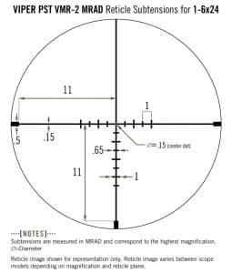Review: Vortex Optics - Viper PST Gen II 1-6x24 Riflescope 24
