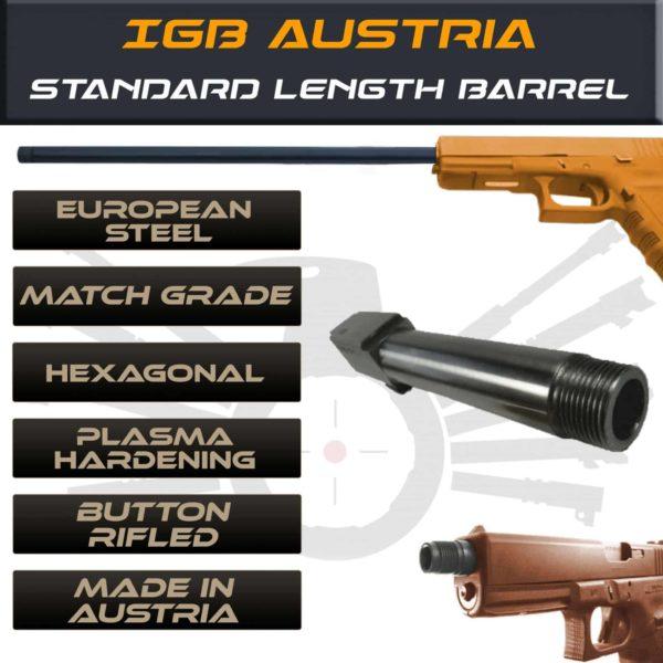 Glock Threaded Barrel & Fluted Barrel Standard Length
