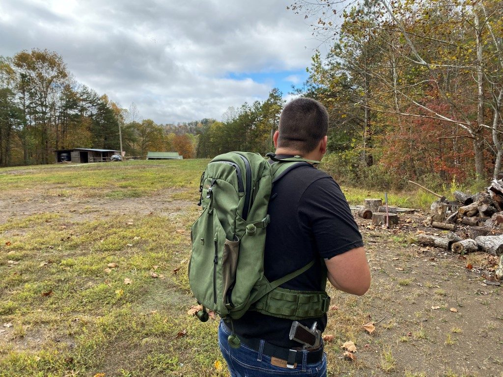 Baloo Marom Dolphin Advanced Combat Quick Release Backpack with T.P.P Connector and Stand Alone Combat Belt (BG4692) 2