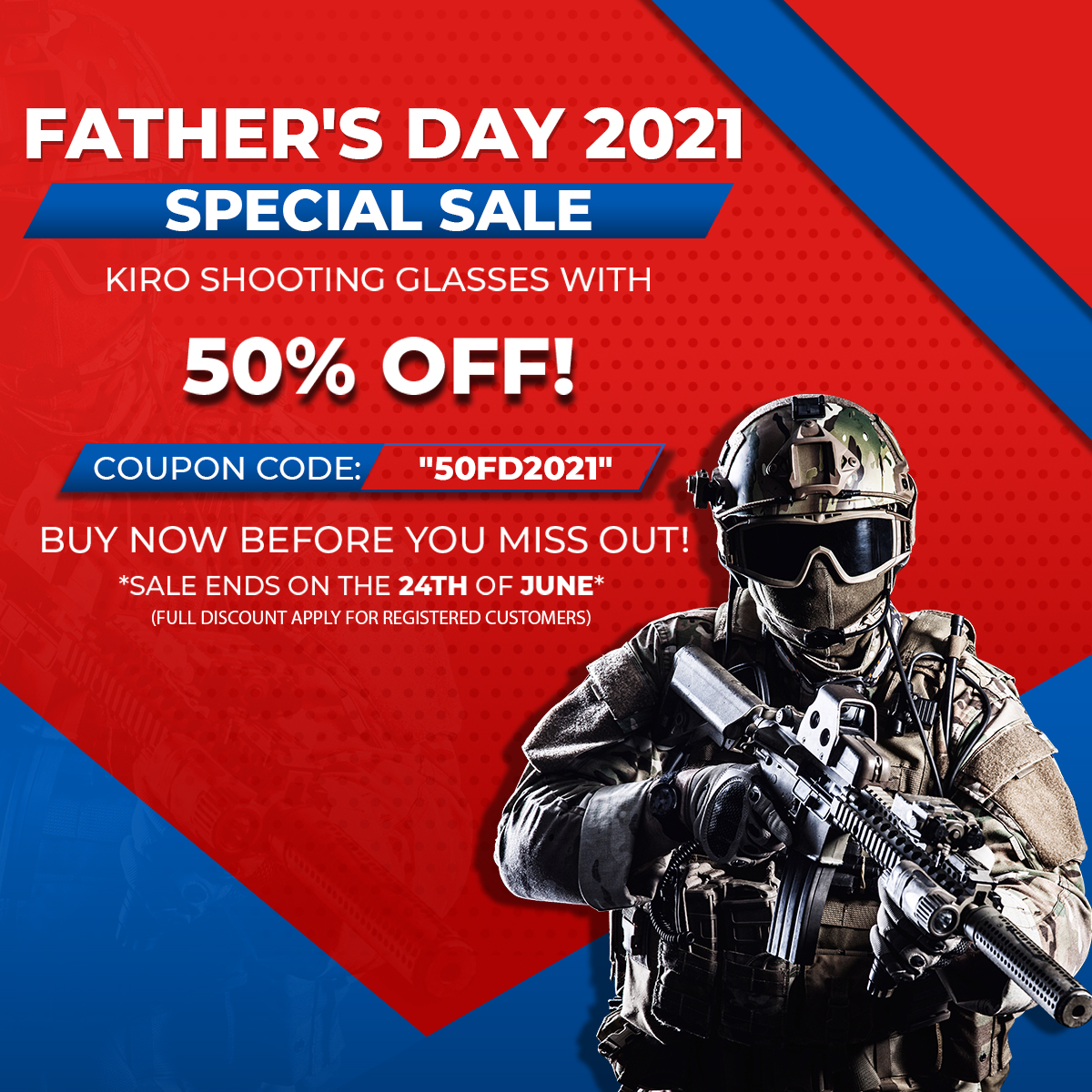 FATHERS DAY KIRO GLASSES SPECIAL SALE